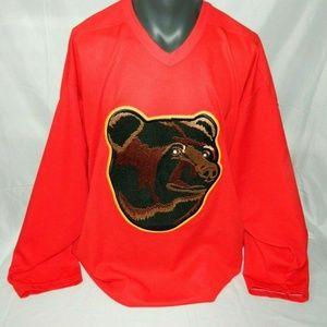 Boston Bruins CMM Pooh Bear Logo XL Hockey Jersey